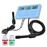 6 in 1 MultiFunction Meter EC CF TDS pH Celsius Fahrenheit