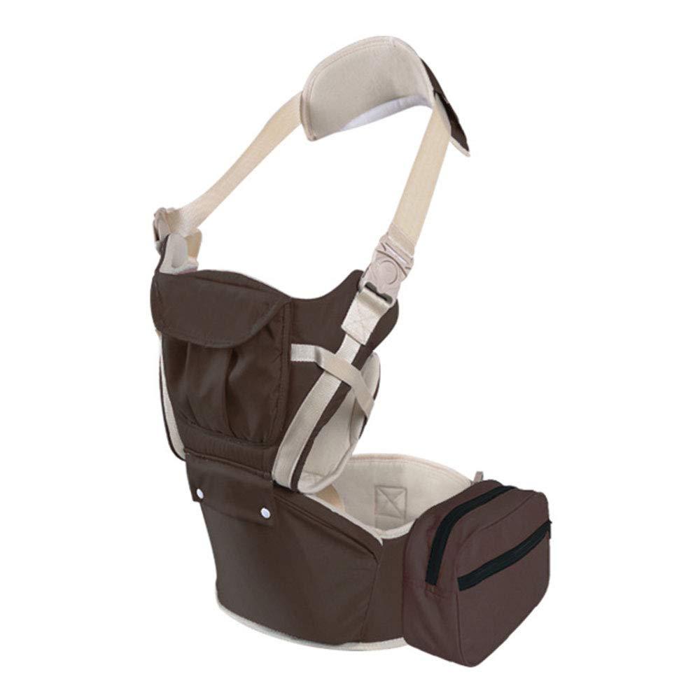 Edelehu Abnehmbare Babytrage Reise Spaziergang Baumwolle Babytrage Komfortable und Ergonomische Kind und Neugeborenen Sling Multi-Position Tragetuch