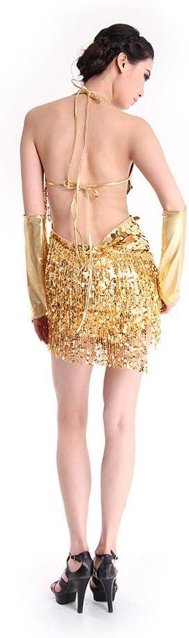 Amazon.com: Latin Dance vestido, SymbolLife Mujer Ballroom ...
