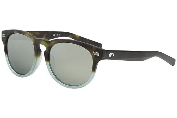 5c570be9e00 Costa Del Mar Del Mar Sunglasses Matte Tide Pool Gray Silver Mirror  580Glass at Amazon Men s Clothing store