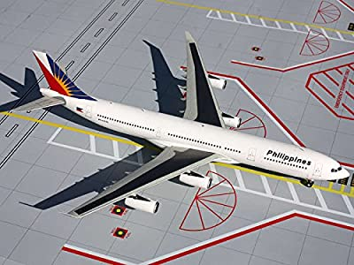 Gemini Jets Philippine A340-300 Diecast Aircraft, 1:200 Scale