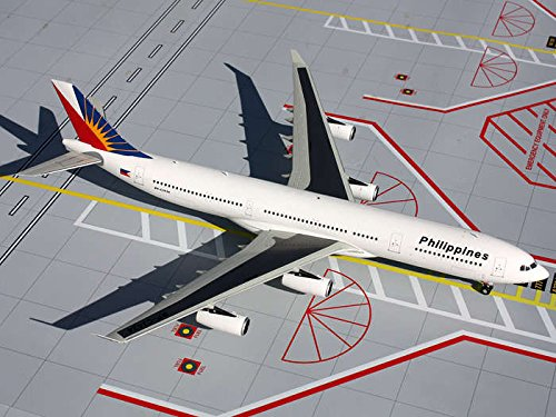 Gemini Jets Philippine A340-300 Diecast Aircraft, 1:200 Scale (Airlines Philippine)
