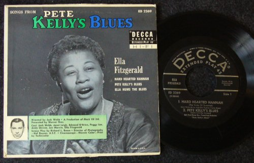 y's Blues; Hard Hearted Woman / Pete Kelly's Blues / Ella Hums the Blues ()
