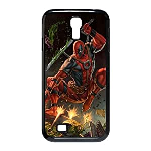 Samsung Galaxy S4 9500 Case Covers Black Deadpool M0ZN