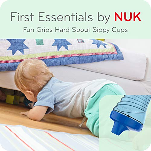 51TPU WSJhL - First Essentials By NUK Fun Grips Hard Spout Sippy Cup, 10 Oz, 2-Pack (69729)