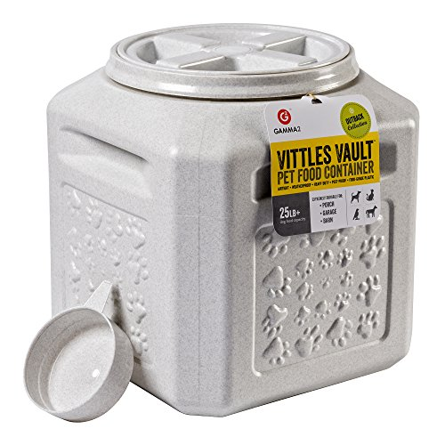 Gamma2 Vittles Vault Outback 25 lb Airtight Pet Food Storage Container ()