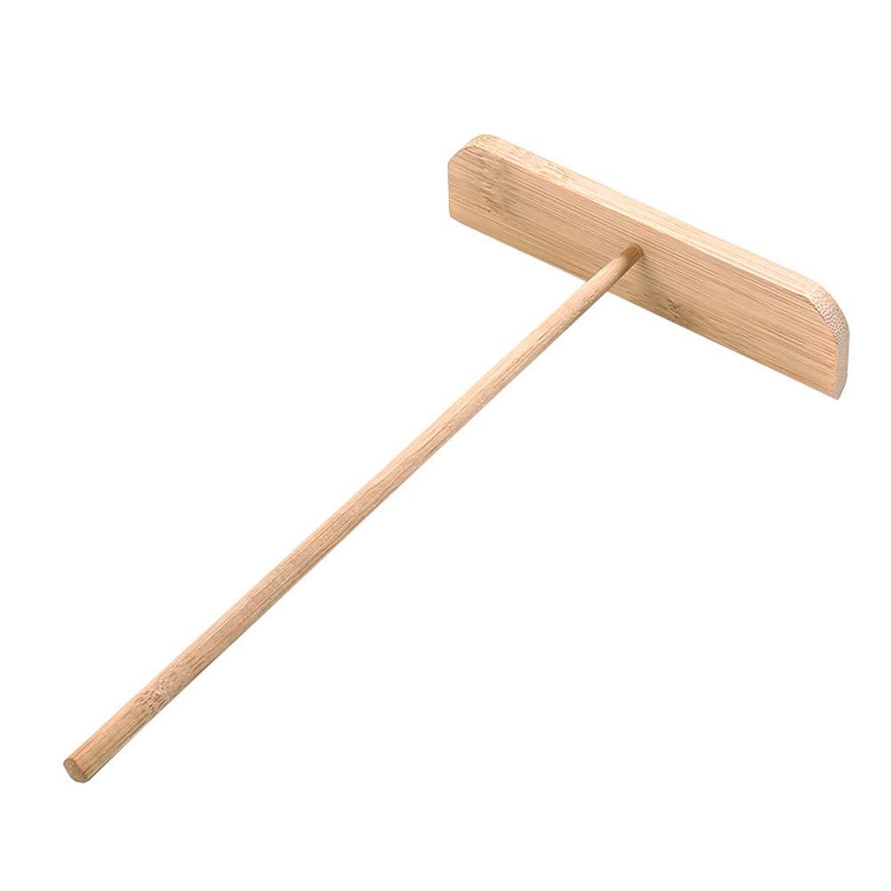 BESTOMZ Esparcidor de Crepe de bambú de Madera Esparcidor de Crepe de Crepe de Crepe (23X13X3.5CM)