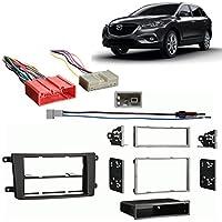 Fits Mazda CX-9 2013-2014 Multi DIN Aftermarket Harness Radio Install Dash Kit
