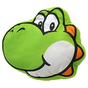Amazon.com: Together Plus – Super Mario Bros. Almohada Yoshi ...