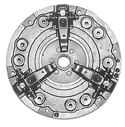 amazon r27706 11 dual stage clutch pressure plate assembly for John Deere PTO Diagram 5075M r27706 11 quot dual stage clutch pressure plate assembly for john deere 300 301 302 302a