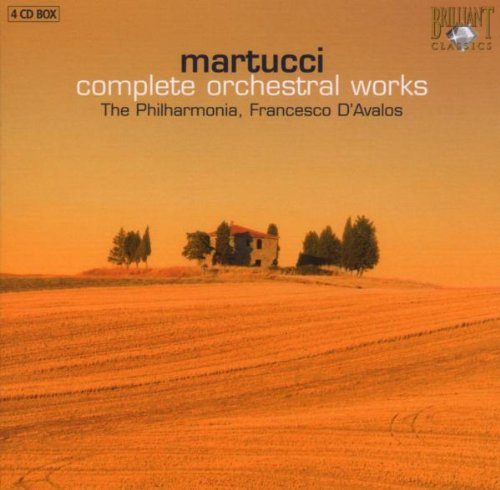 Martucci: Complete Orchestral Works
