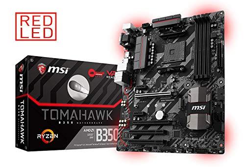 MSI Gaming AMD Ryzen B350 DDR4 VR Ready HDMI USB 3 CFX ATX Motherboard (B350 TOMAHAWK) (Renewed)