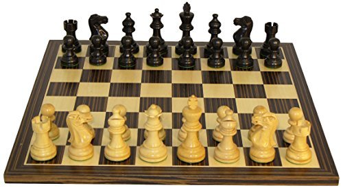 American Emperor Chess Set, Black by Worldwise Imports