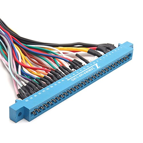 new 28 Pins Jamma Harness Cabinet Wire Wiring Loom For ... Jamma Wiring Loom Harness Cabinet Full on