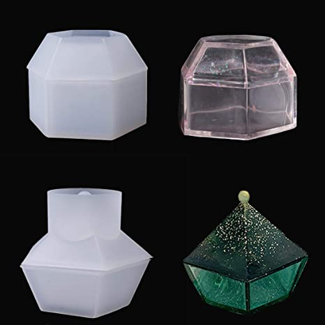 Silicone Bead Storage Box Mold Mould Making Casting DIY  Epoxy Jewellery Resin