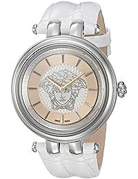 Women's VQE010015 KHAI Analog Display Quartz White Watch