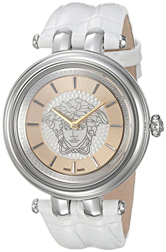 Versace-Womens-VQE010015-KHAI-Analog-Display-Quartz-White-Watch