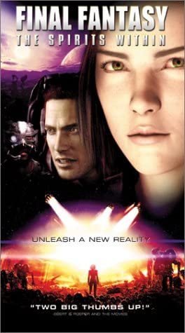 Amazon Com Final Fantasy The Spirits Within Vhs Alec Baldwin