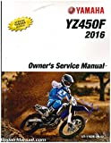 LIT-11626-29-18 2016 Yamaha YZ250F Motorcycle Owners Service Manual