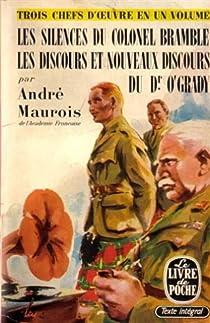Les silences du colonel Bramble - Les discours et nouveaux discours du Dr O'Grady par Maurois