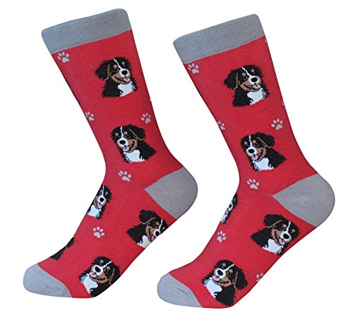 Bernese Mt. Dog Socks - Soft and Comfortable - One Size Fits Most - Unisex ()