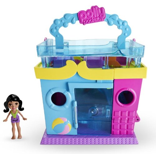 Polly pocket pollyville pool playset buy online in uae for Piscine polly pocket