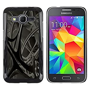Be Good Phone Accessory // Dura Cáscara cubierta Protectora Caso Carcasa Funda de Protección para Samsung Galaxy Core Prime SM-G360 // Anatomy Blood Vessels 3D Structure Modern Art