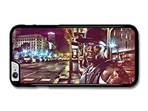 "AMAF ? Accessories 50 Cent Gangster Pointing Finger on the Street case for iPhone 6 Plus (5.5"")"
