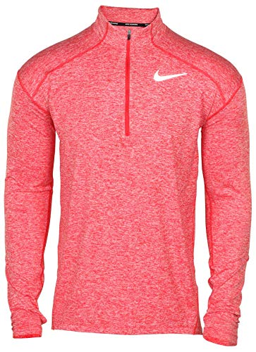 (Nike Men's Dri-Fit Element Running Top-University Red-Small)
