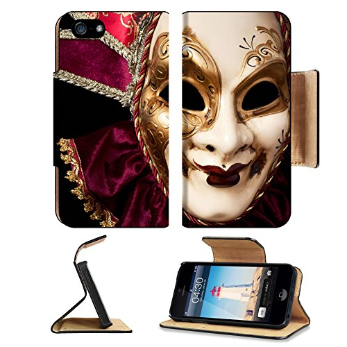 [MSD Premium Apple iPhone 5 iPhone 5S Flip Pu Leather Wallet Case iPhone5 IMAGE ID 19315807 Carnival in Venice image with ample copyspace Isolated On] (Venice Carnival Costumes Ideas)