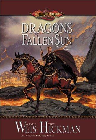 """""""Dragons of a Fallen Sun (Dragonlance - The War of Souls, Volume I)"""" av Margaret Weis"""