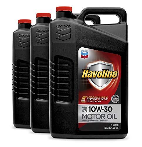 - Havoline (223395485-3PK) 10W-30 Motor Oil - 5 qt. (Pack of 3)