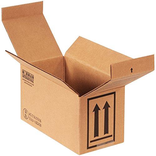Aviditi HAZCO2Q 2-1 Quart Haz Mat Boxes, 9 1/2