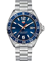 """The Tag Heuer Formula 1 Quartz, reference number WAZ1010.BA0842, is created for the superb """"Formula 1"""" collection. The watch boasts a 43 mm stainless steel case fitted with a stainless steel and aluminum unidirectional turning bezel. Powered ..."""