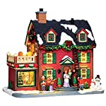Lemax Village Collection Decorating The New England Hearth with Adaptor # 45726