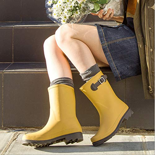 Mobeka Rain Stivali Gomma In Impermeabili Pioggia Boots Da Rown Più Acqua Scarpe Antiscivolo Adulti Signore Singoli Per A Piatti ddOwxrHq