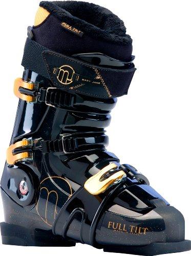 Full Tilt Dames Skischoenen Mary Jane Zwart-grijs-goud