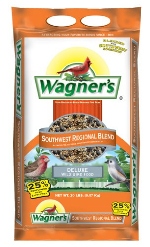 Bird Seed Bag - Wagner's 62010 Southwest Regional Blend, 20-Pound Bag