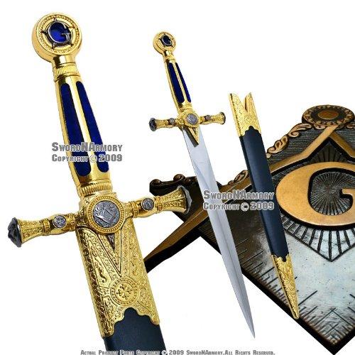 Etrading Masonic Ceremonial Dagger Templar Knight Freemasonry Short Sword