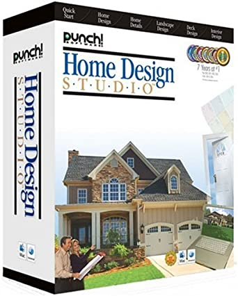 Amazon.com: Punch! Home Design Studio (Mac) [OLD VERSION]