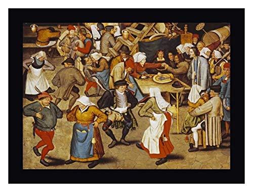 The Indoor Wedding Dance by Pieter Bruegel The Elder - 17