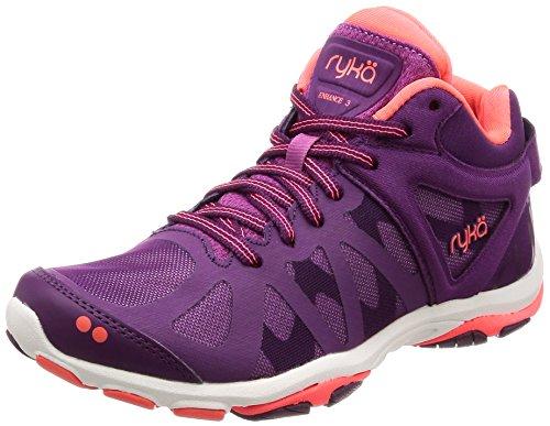 Ryka Womens Enhance 3 Training Shoe, Grape Juice, 8.5 B(M) US