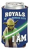 MLB Kansas City Royals Star Wars Yoda Can Cooler