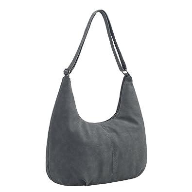 Amazon.com  Womens Purse Top Handle Suede Totes Hobos Shoulder Bags Handbags   Shoes 875fa9d0d0