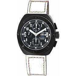 Montres De Luxe Men's TH7001 BLK TAN Automatic Day/Date Watch