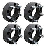 DCUAUTO 4pc 2007-2017 Toyota Tundra 5x150 Hubcentric Wheel Spacers Adapters 2 Inch with 14x1.5 Studs