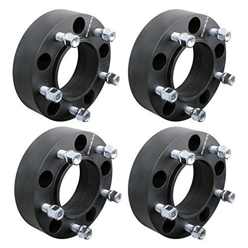 DCUAUTO 4pc 2007-2017 Toyota Tundra 5x150 Hubcentric Wheel Spacers Adapters 2 Inch with 14x1.5 Studs by DCUAUTO