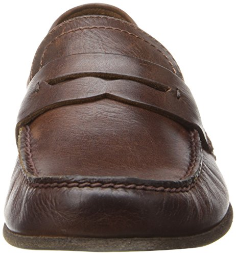 Frye Mens Lewis Penny Loafer Marrone Scuro - 80231