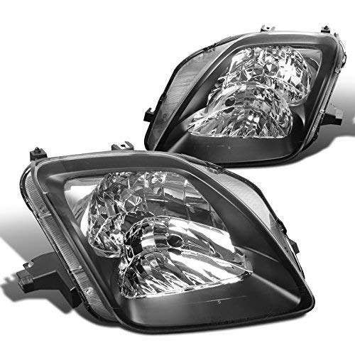 Spec-D Tuning LH-PL97JM-ABM Black Headlight (Euro) ()
