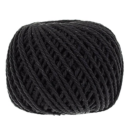 3mm Thick Cotton Rope – Several Color Options – 100 Meter – Great for Crafts, Decoration, Art, and More! by PARACORD PLANET